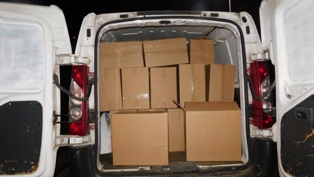Хванаха 50 мастербокса контрабандни цигари