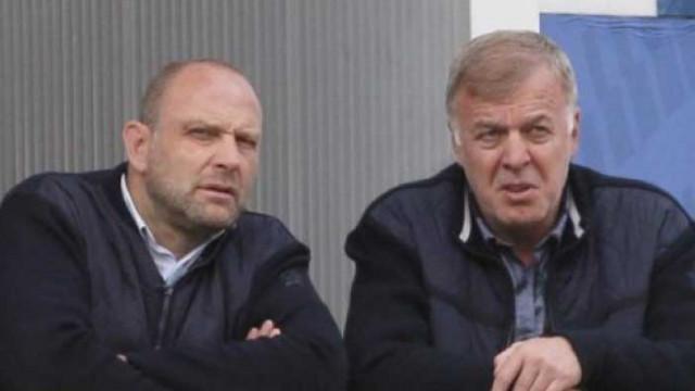 Наско Сираков и Тити Папазов надъхват Левски преди дербито