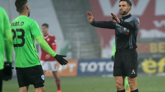 Черно море с остра позиция за съдийството на мача с ЦСКА