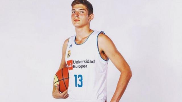 Баскетболният Реал Мадрид картотекира българин