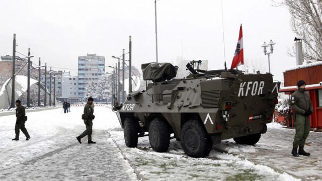 KFOR организира военни учения в Косово