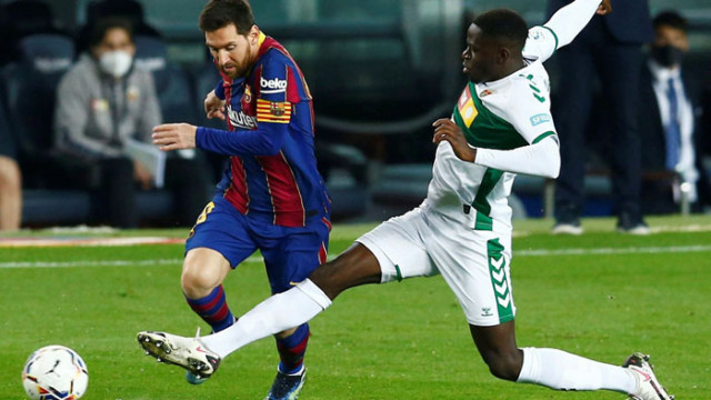 Барселона с класика срещу Елче в двубой от Примера