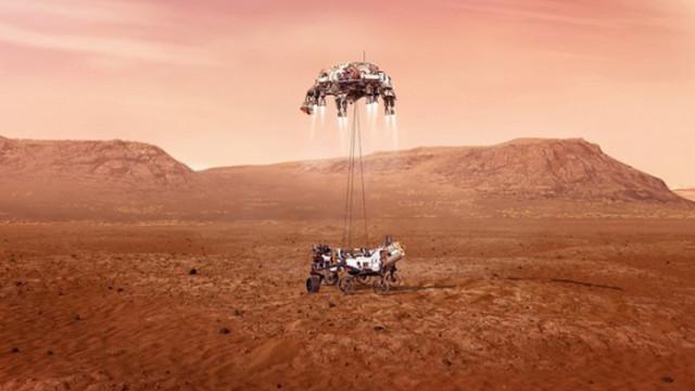 Марс, марсоходът Perseverance и впечатляващите нови кадри от Червената планета