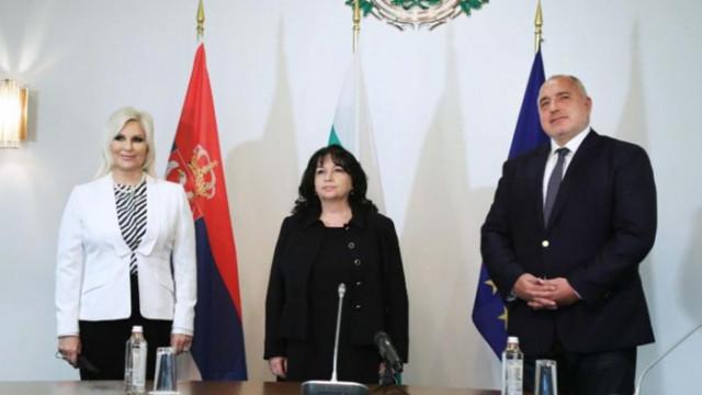 Бойко Борисов и вицепремиерът на Сърбия  обсъдиха напредъка на проекти от общ интерес
