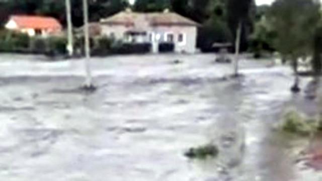 Голямо наводнение във варненското село Неофит Рилски