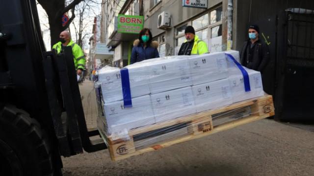 Пристигнаха 52 800 дози от ваксината на AstraZeneca