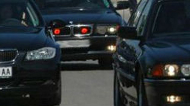 Леко пътно-транспортно произшествие с автомобил на НСО
