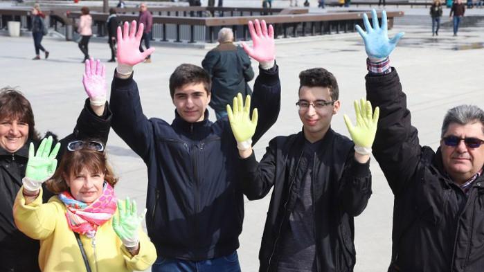 В Световния ден на редките болести: Шарен флашмоб в София