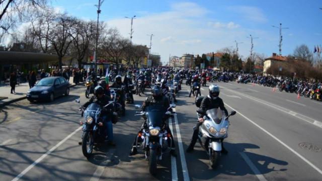 Ограничения на движението във Варна във връзка с мотошествието на 3-ти март