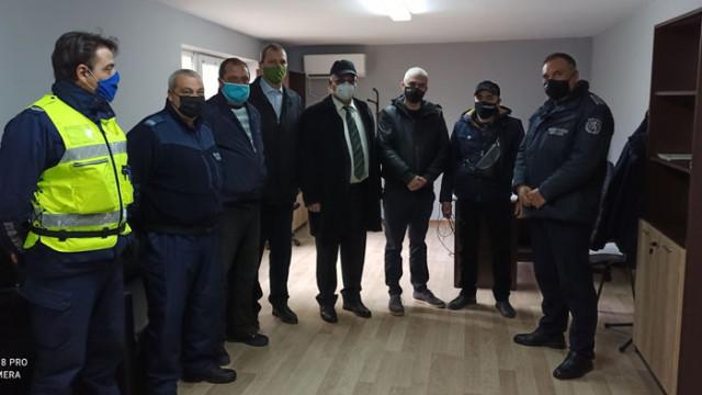 Полицейски служители от ОД МВР-Варна ще обслужват в нови помещения жителите на Аврен от днес
