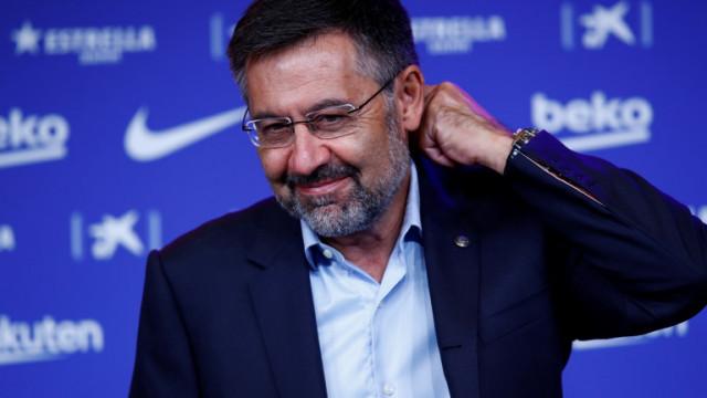"""Бившият президент на """"Барселона"""" Бартомеу освободен от ареста"""