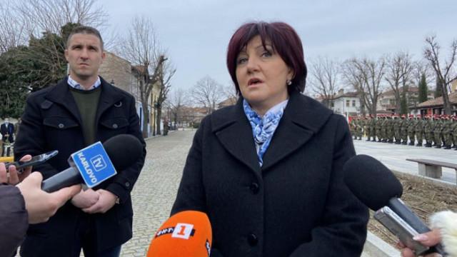 Караянчева от Шипка: Това, че президентът иска да дойде тук и да чете слово си е негов проблем