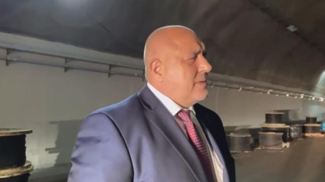"""До 18 март ще бъде пуснат в експоатация тунел """"Витиня"""", увери премиерът"""