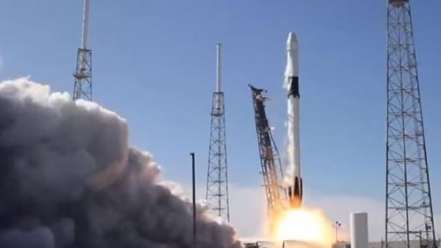 "SpaseX изстреля ракета с 60 микроспътника ""Старлинк"" (ВИДЕО)"