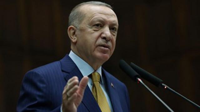 Ердоган приветства военно учение в Средиземно море