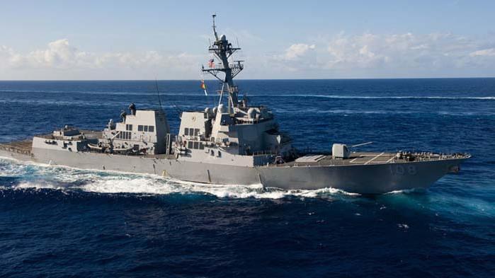 Американски боенкораб премина през Тайванския проток, обявиха от ВМС на