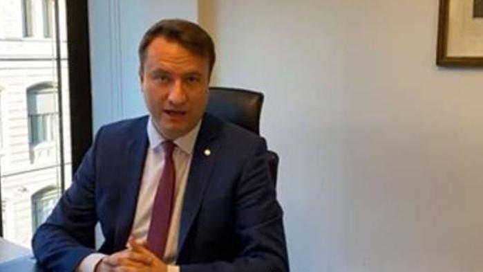Германският депутат от управляващия Християндемократически съюз Марк Хауптман, който подаде