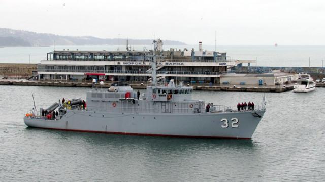 """Минен ловец """"Цибър"""" от състава на ВМС ще се включи в състава на Втората противоминна група на НАТО"""
