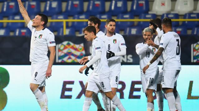 Италия без звездите на Интер срещу България