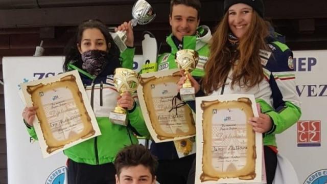 Български победи на слаломите в Загреб