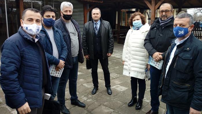 Кандидати за народни представители на ГЕРБ-СДС се срещнаха с жители на с. Блъсково, община Провадия