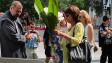 Цветя на признателност към доброволците в Аспарухово