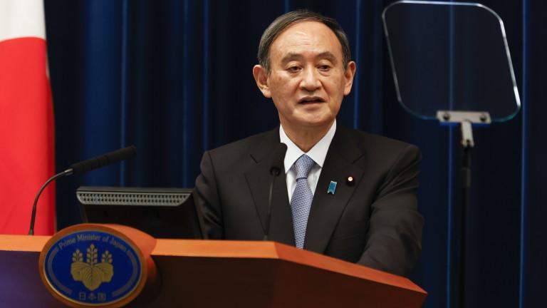 Японският премиерЙошихиде Суга заяви в петък, че вероятноще покани американския