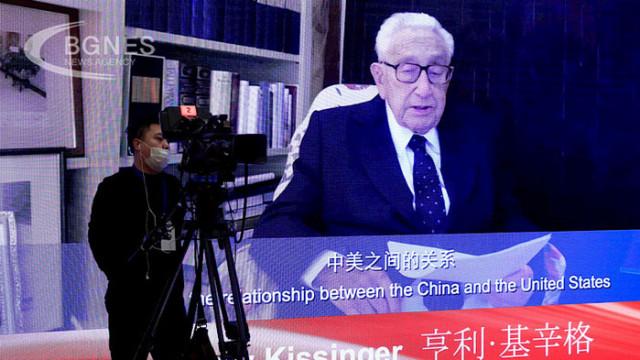 Кисинджър: САЩ да се разберат с Китай, иначе рискуваме конфликт