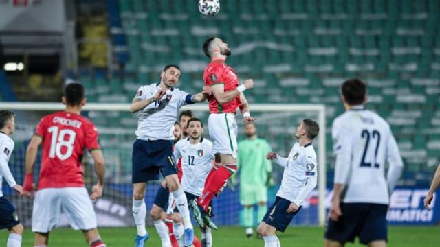 Италия си тръгва за първи път с победа от България