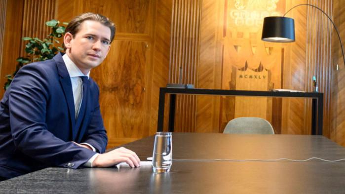 Австрийският канцлерСебастиан Курцзаплаши да попречина Европейската комисия да осигури100 милиона