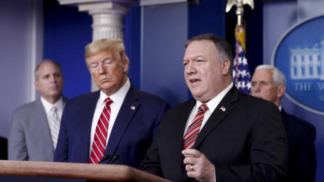 Помпео: Китай използва дезинформация, за да разделя САЩ и Европа