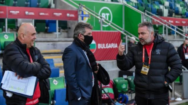 Емил Костадинов: Общо взето от вчерашния мач съм доволен