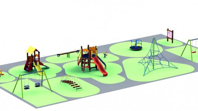 """Най-малките жители на Провадийския квартал """"Север"""" ще имат нова детска площадка"""