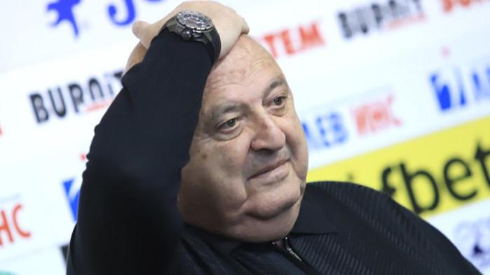 Президентът на Славия Венци Стефанов отговори светкавично на Георги Иванов.
