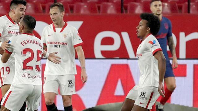 Севиля удари Атлетико и завърза още битката за титлата в Ла Лига