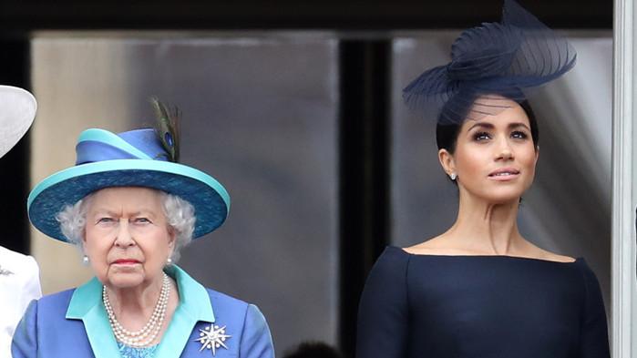Елизабет Втора, Меган Маркъл и мнението на кралицата за актьорската кариера на херцогинята