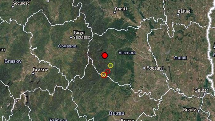 Земетресение с магнитуд 4,8 по скалата на Рихтер е регистрирано