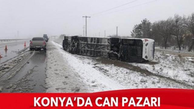 Загинал и 26 ранени при жестока автобусна катастрофа в Турция