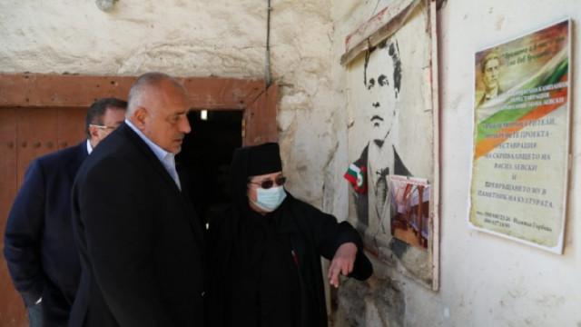"""Премиерът пое ангажимент да продължи реставрацията на Мулдавския манастир """"Св. Петка"""""""