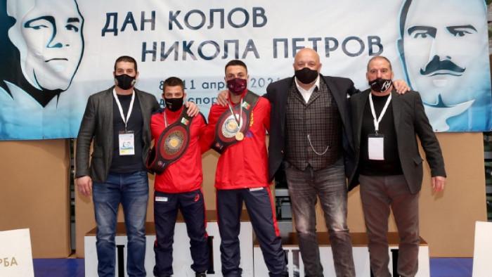 Микяй Наим и Дейвид Димитров са новите носители на златните