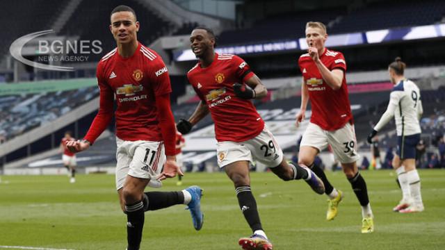 Манчестър Юнайтед показа характер и обърна Тотнъм в Лондон