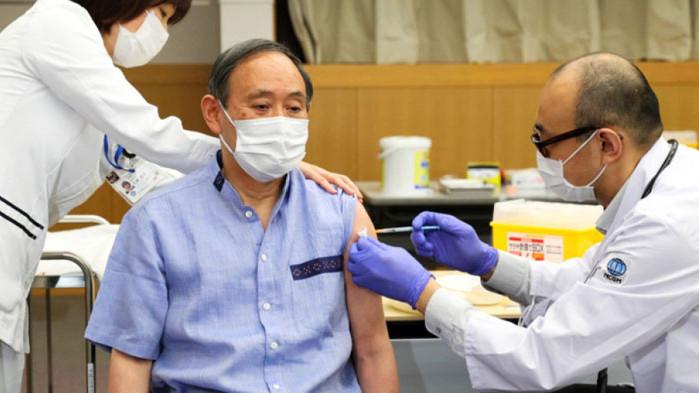 Японското правителство възнамерява да ускори ваксинацията на 36 милиона души