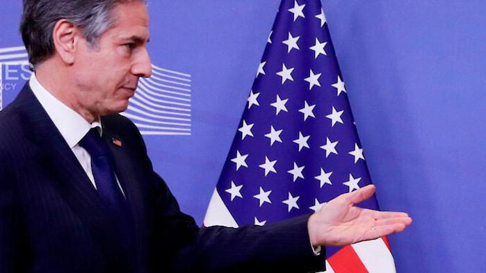 Държавният секретар на САЩ Антъни Блинкен се отправя в Брюксел