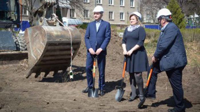 Първа копка за строежа на новата сграда на Карин дом