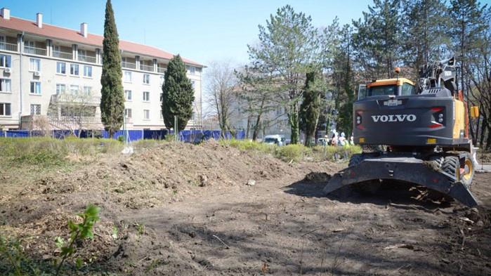 Започна изграждането на новата сграда на Карин дом