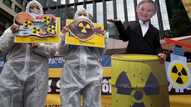 Китай и Южна Корея негодуват от Япония за изхвърлянето на водата от Фукушима в морето
