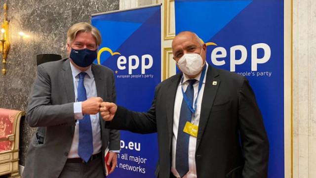 Антонио Лопес подкрепи Бойко Борисов и ГЕРБ, пожела успех в сформирането на кабинет
