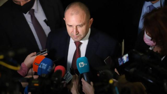 Радев ще прави обръщение към народа и Народното събрание на първото заседание на новия парламент