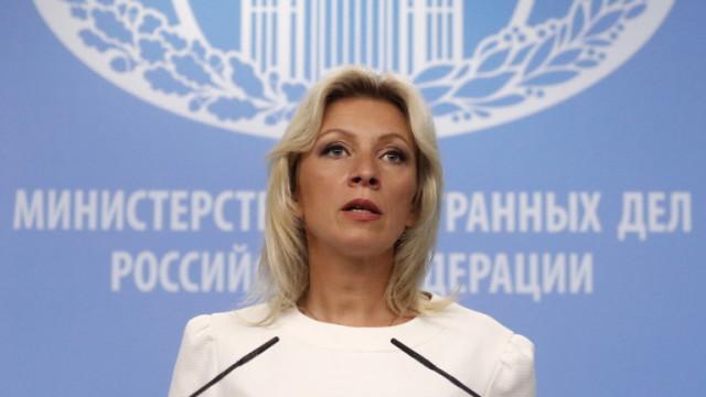 Захарова: Надяваме се, че Турция е чула предупреждението на Лавров за Украйна
