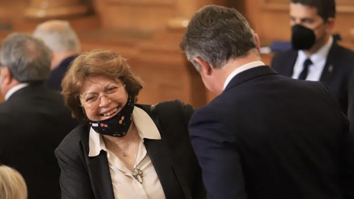 Новоизбраните в парламента Татяна Дончева и Атанас Атанасов от днес